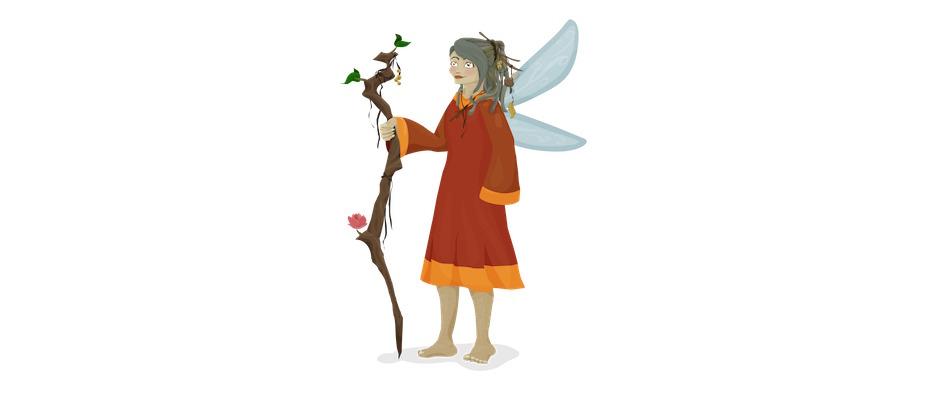 """Hallo, ich bin Feeodora, die Hüterin des Waldes. Sei willkommen und sieh dir die wunderbaren Geschöpfe an, die hier zuhause sind!"""" Copyright: Meistercody.com"""